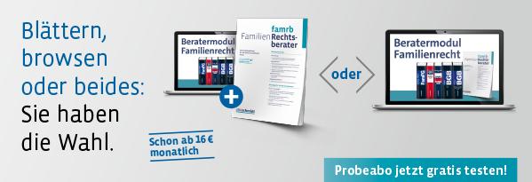 Familienrecht 2018. Blättern, browsen oder beides: Sie haben die Wahl.